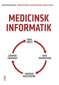 Book cover of the book Medicinsk Informatik
